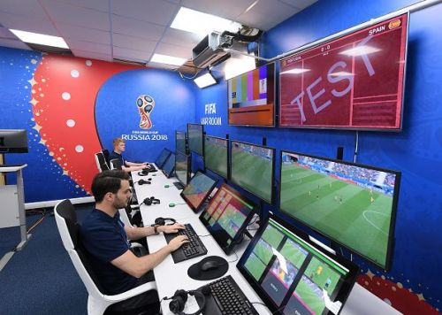 Official Opening of the IBC & Visit to VAR Operation Room - FIFA World Cup Russia 2018