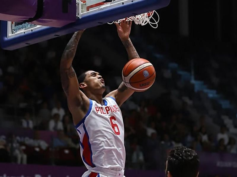 59972e79762 Jordan Clarkson finally got to wear a Gilas Pilipinas jersey and proved he  can dominate Asian