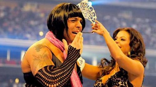 Santina Marella won the first ever Women's Battle Royale at WrestleMania 25
