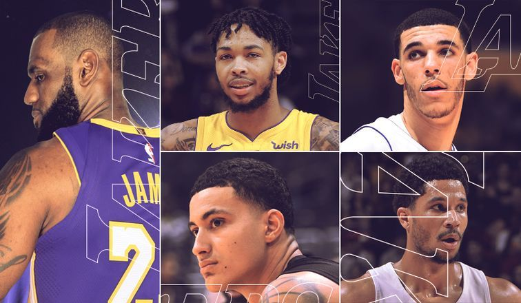 be11874779b8 Lakers are arguably the most anticipated franchise in the upcoming season.