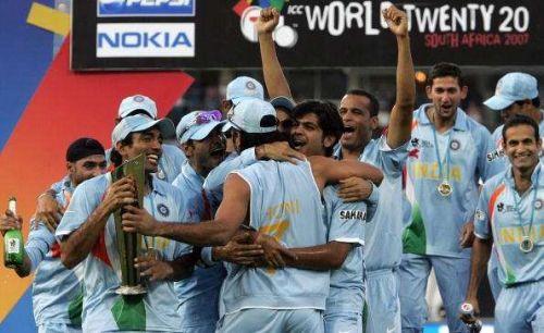 MSDHONI 7 WON WORLD T20
