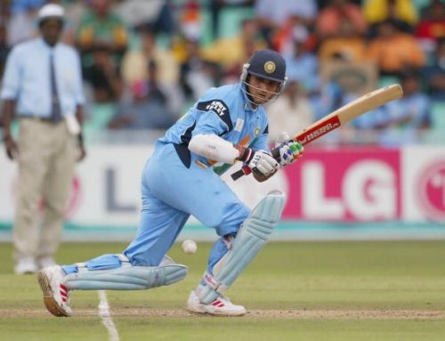 Sourav Ganguly of India