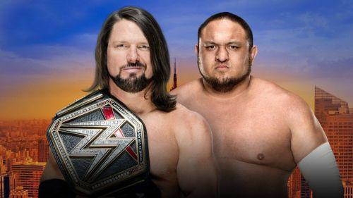 AJ Styles vs Samoa Joe