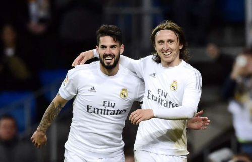 Image result for isco and luka modric