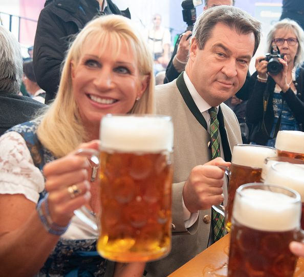 Politicians Meet At Annual Gillamoos Gathering As Bavarian Elections Near