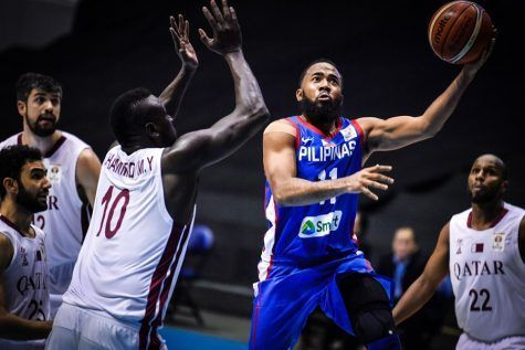 Stanley Pringle takes over from Christian Standhardinger in a game against Qatar