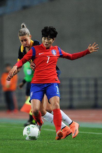 South Korea v Australia - AFC Women