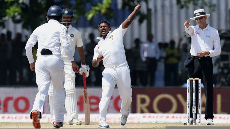 Image result for india vs sri lanka 2015 rangana herath