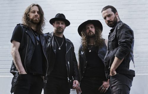 Canadian hard rock band Monster Truck / Photo by Brooks Reynolds
