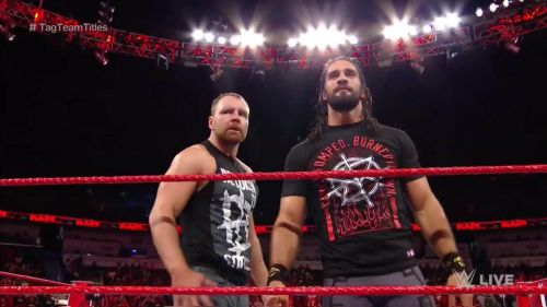 Seth Rollins and Dean Ambrose have a Championship match at Hell in a Cell