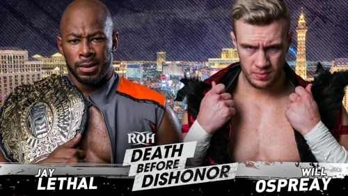 Ospreay and Lethal put together an outstanding match in the main event