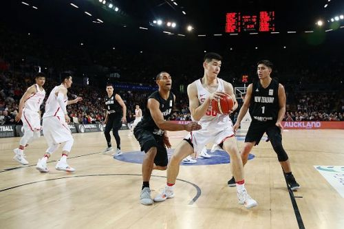 New Zealand v China - FIBA World Cup Qualifier