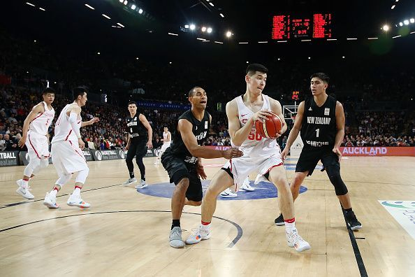 New Zealand v China - FIBA World Cup Qualifier