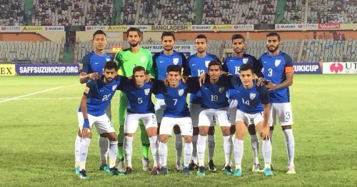 The Indian football team went down fighting 1-2 against Maldives in the SAFF Cup 2018 final