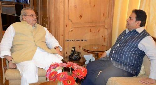 JK Governor and Rajiv Shukla/ PIC- Jammu Links