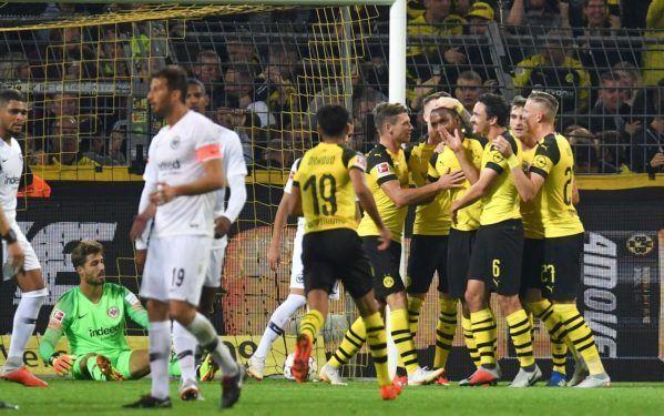 Borussia Dortmund vs Eintract Frankfurt