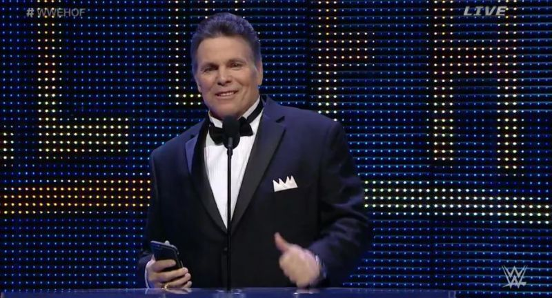Lanny Poffo inducting brother