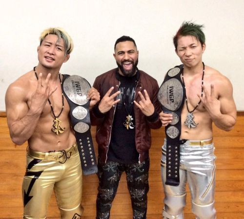 Will Roppongi 3K step out of the shadows of Rocky Romero?