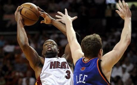 Wade was flat-out unstoppable in the game.