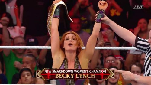 I was truly glad to see Becky Lynch defeat Flair for the title