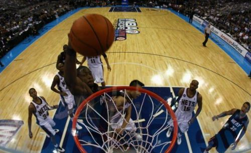 New Jersey Nets v Miami Heat - NBA at the O2 Arena