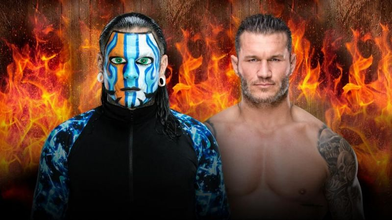 Randy Orton vs. Jeff Hardy Hell in a Cell