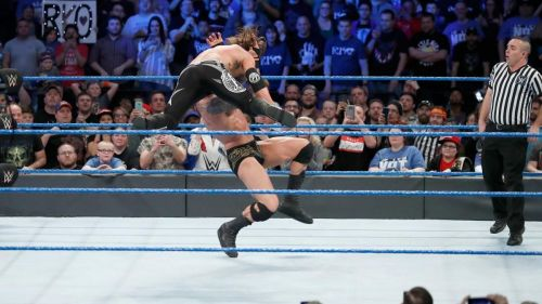 (Courtesy: WWE.com) Orton and Styles faced each other once on Smackdown Live