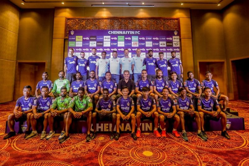 The Chennaiyin FC squad for the upcoming ISL season