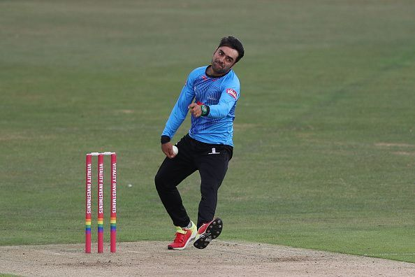 Rashid Khan is one of the most feared spinners going around