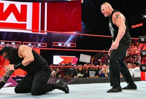 Could we see Lesnar back in the WWE ring this Sunday?