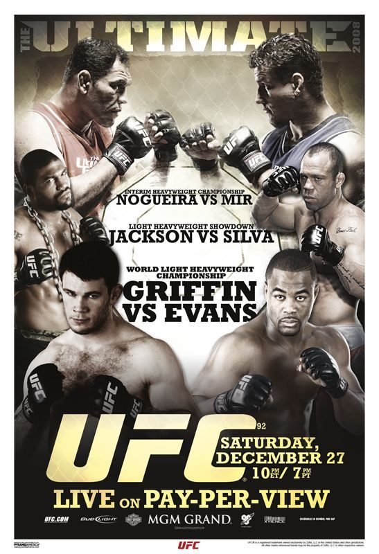 UFC 92 - Played host to eight knockout finishes