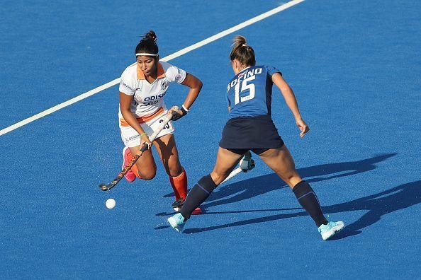 Italy v India - FIH Womens Hockey World Cup