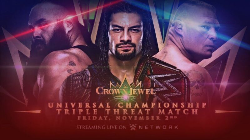 Crown Jewel Triple Threat match