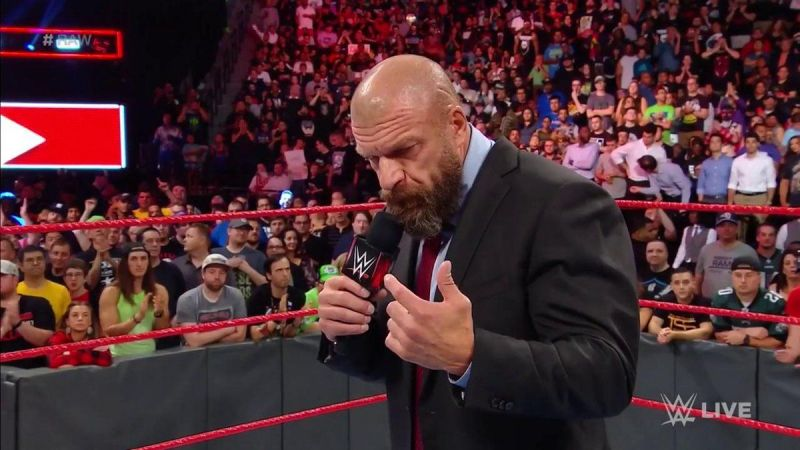 As unlikely as this possibility sounds, Triple H is clearly a legend