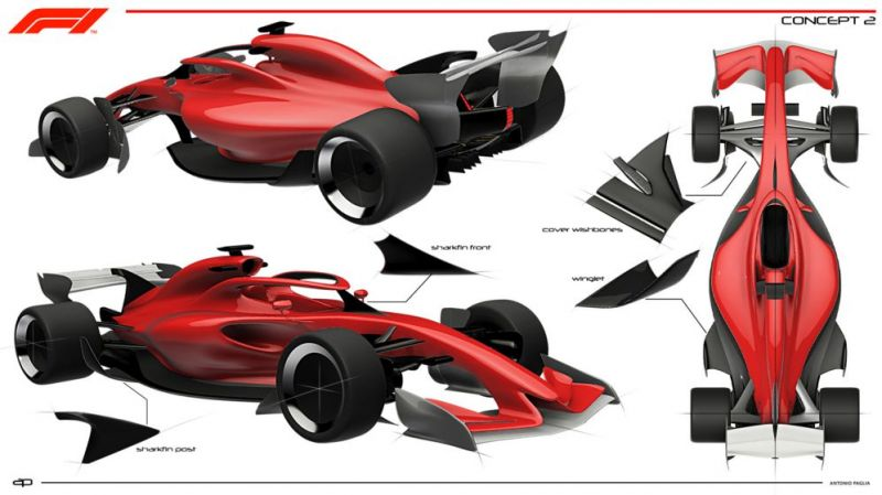 Concept 2 Image credits: F1 official