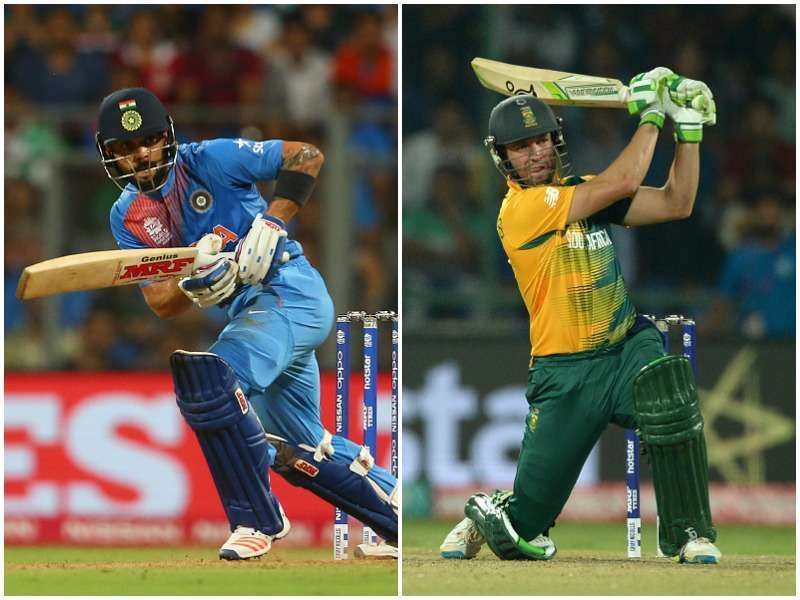 Two of the most innovative batsmen in the world