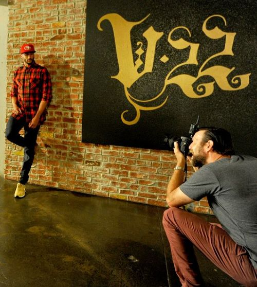 Colin Kaepernick And New Era 'This is the Cap' Fall Campaign Shoot
