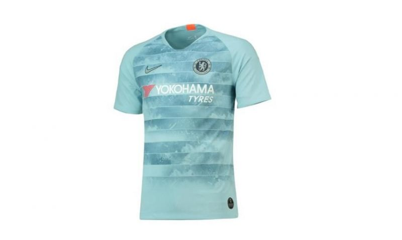 size 40 586f6 310be Chelsea launch their third kit with a special in-built ...