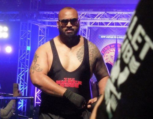 Bad Luck Fale is one of the two remaining OGs of The Bullet Club