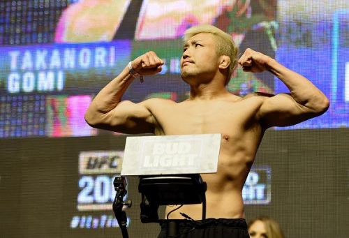 The UFC purchased PRIDE in 2007, bringing top fighters like Takanori Gomi over from Japan