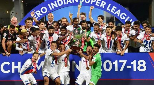 Image result for isl 2017-18 winners