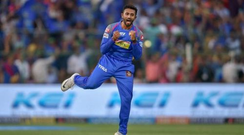 Shreyas Gopal's all-round effort helped Karnataka get their first win of the tournament