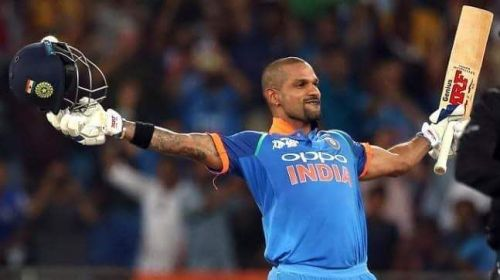 * Player of the Series - Shikhar Dhawan