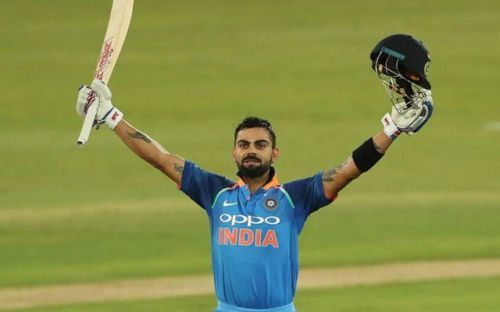Kohli's astonishing innings of 184 helped India  to chase down 330