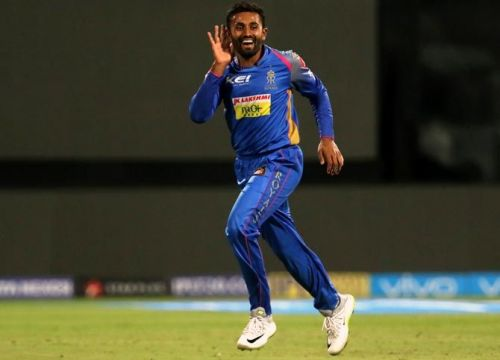 shreyas gopal was highest wicket-taker for rajasthan royals last season