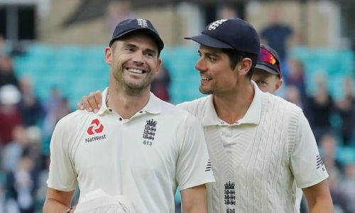 Anderson and Cook are among the greatest cricketers to have represented England