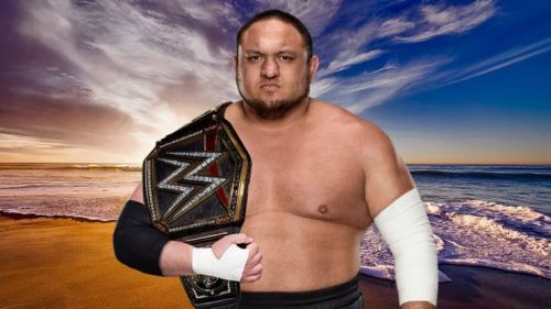Samoa Joe WWE Champion