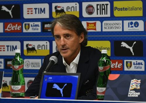 Italy Walk Around And Press Conference