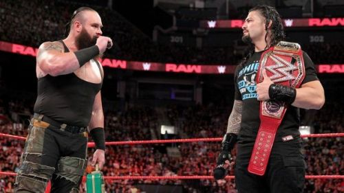 Roman Reigns vs. Braun Strowman Hell in a Cell