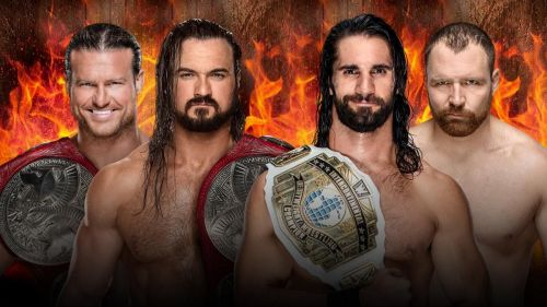 Both teams would be colliding at Hell in a Cell